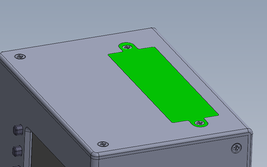 battery compartment for receiver box